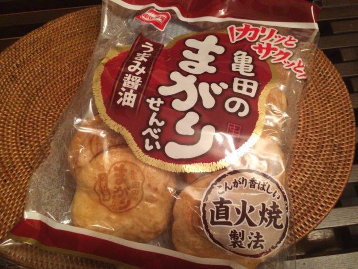 亀田製菓 まがりせんべい