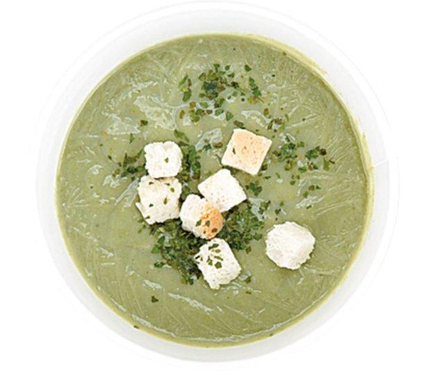 コンビニやスーパーで買えるカップスープ「ホットグリーンスムージー」