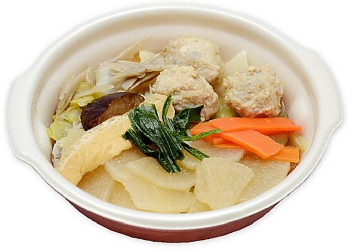 コンビニやスーパーで買えるカップスープ「鳥団子鍋」