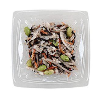 ローソンの糖質制限食品「もち麦&キヌアの和サラダ」