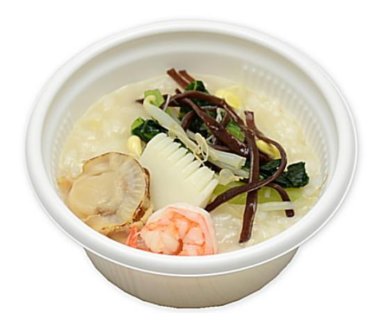 コンビニで買える人気お弁当「生姜香る海鮮中華粥」