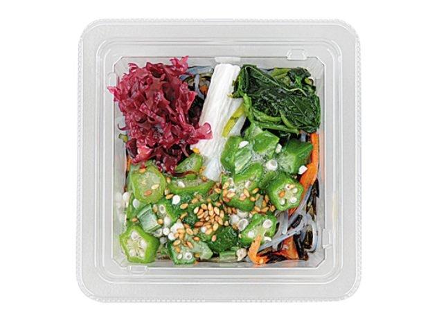 ローソンの糖質制限食品「オクラと山芋のネバネバサラダ」