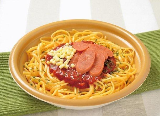 ローソンの糖質制限食品「チョリソーとトマトソース」
