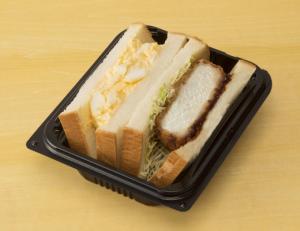 コンビニの人気サンドウィッチ「まちかど厨房 厚切りかつ&ごろっとタマゴサンド」