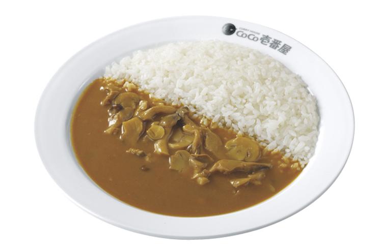 ココ壱番屋の人気トッピング「きのこ」