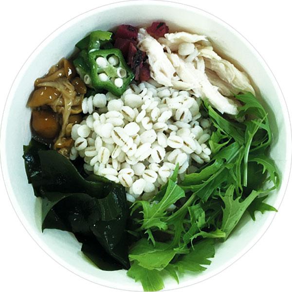 サークルKで買える人気の低カロリー食品「梅と蒸し鶏の雑穀スープ」