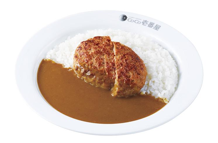 ココ壱番屋の人気トッピング「ハンバーグ」