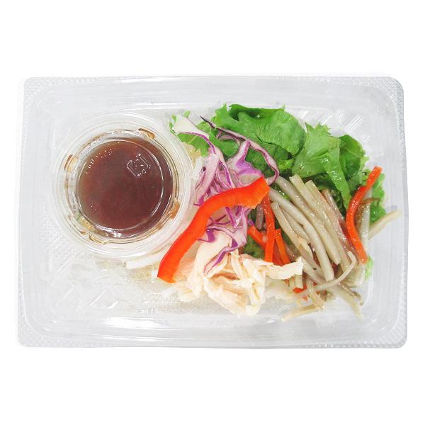 サークルKで買える人気の低カロリー食品「根菜と蒸し鶏のこんにゃく麺サラダ」