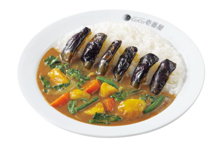 ココ壱番屋の人気トッピング「野菜三昧」