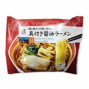 コンビニの人気冷凍食品「具付き醤油ラーメン」