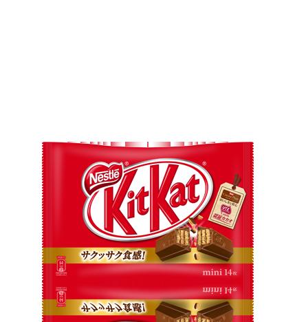 コンビニで買える人気お菓子「キットカット」