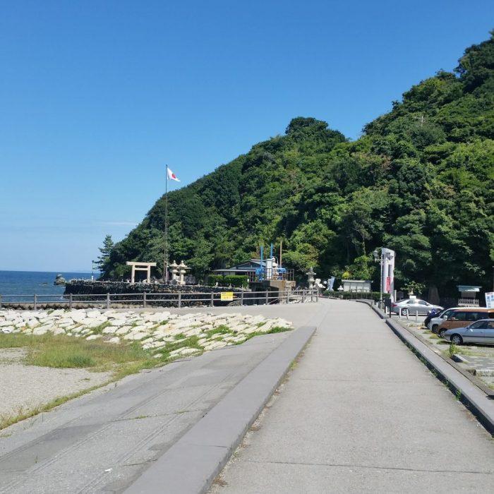二見興玉神社の駐車場