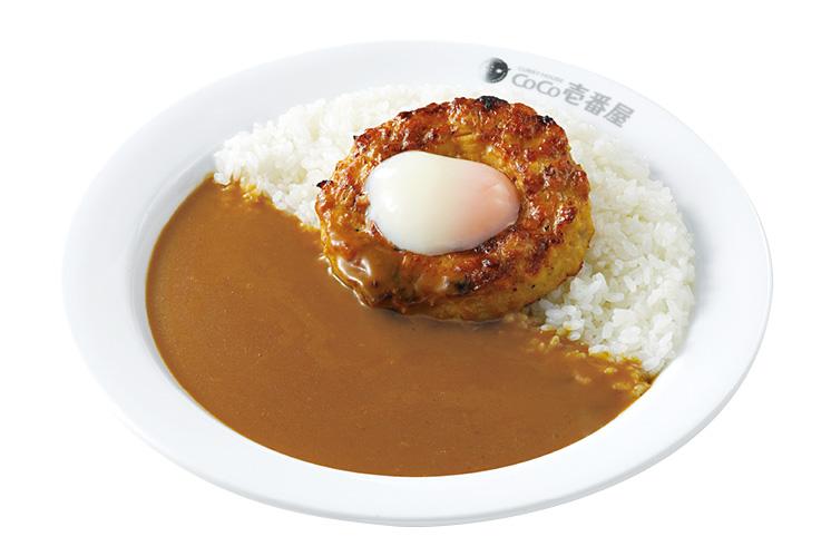 ココ壱番屋の人気トッピング「半熟タマゴ鶏つくね」