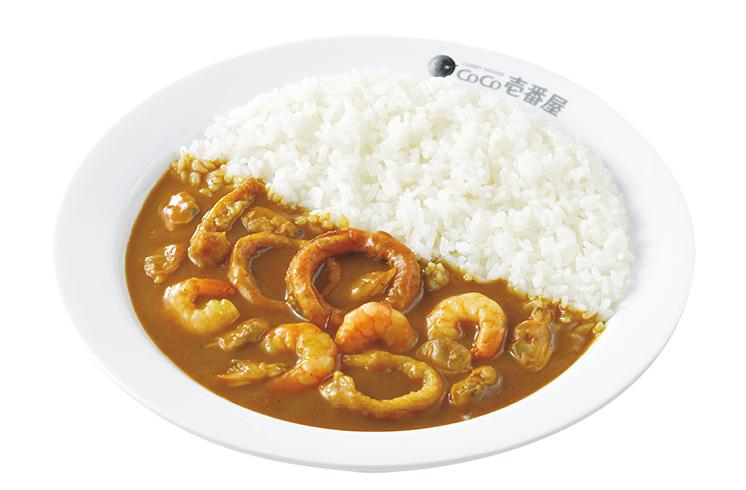 ココ壱番屋の人気トッピング「海の幸」