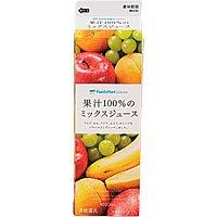 コンビニの人気飲み物(ジュース)「ファミリーマート 果汁100%のミックスジュース」