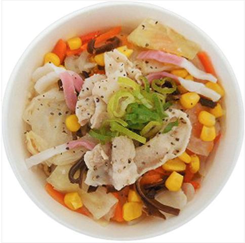 サークルK(ファミリーマート)で買える糖質制限食品「ちゃんぽん風野菜スープ」