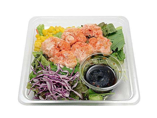 コンビニで買える夜食「海老マヨネーズのサラダ」