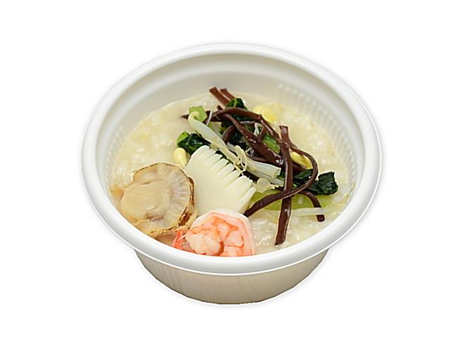 セブンイレブンで買える人気の低カロリー食品「生姜香る海鮮中華粥」