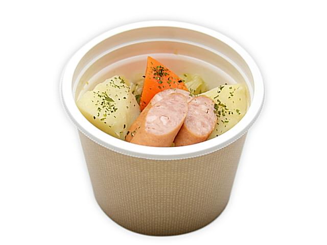 セブンイレブンで買える人気の低カロリー食品「ごろごろ野菜とソーセージのポトフ」