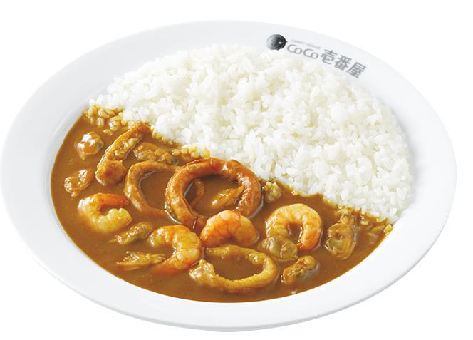 ココ壱番屋(ココイチ)の人気カレー「海の幸カレー」