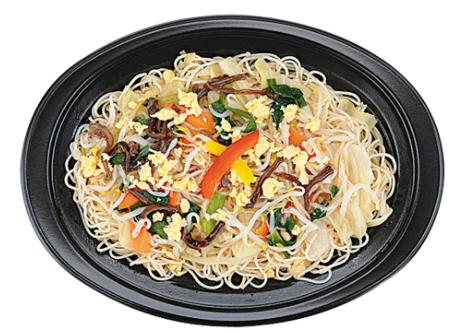 ローソンで買える夜食人気ランキング【1/3日分の野菜が摂れる焼ビーフン】