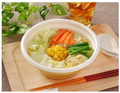 ローソンで買えるお弁当人気ランキング【白湯仕立ての野菜タンメン】