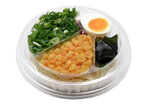 セブンイレブンで買える夜食人気ランキング【ツルッともっちり冷したぬきうどん】