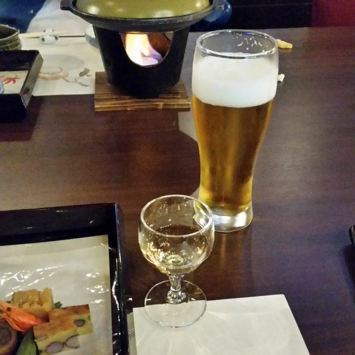 高山わんわんパラダイスホテルで注文したビール