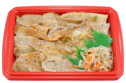 ローソンで買えるお弁当人気ランキング【氷温®熟成豚のねぎ塩カルビ弁当(麦飯)】