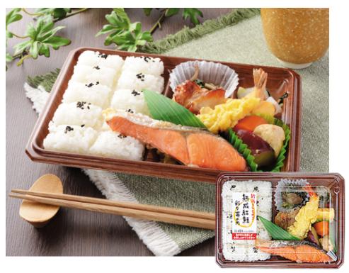 ローソンで買えるお弁当人気ランキング【新潟コシヒカリ 熟成紅鮭彩り幕の内】