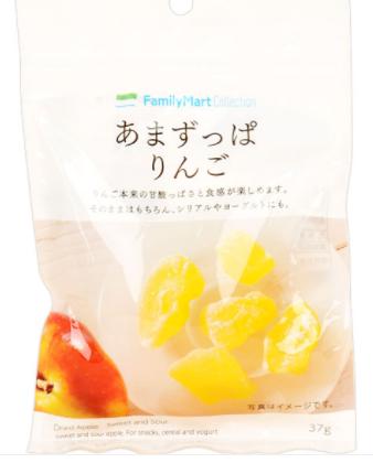 ファミリーマートで買えるお菓子人気ランキング【あまずっぱりんご】
