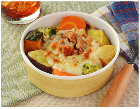 ローソンで買えるお弁当人気ランキング【野菜とペンネのオーブン焼き】