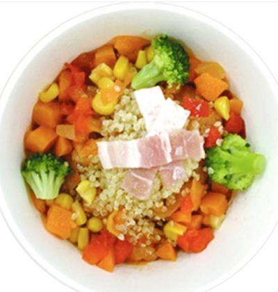ファミリーマートで買える朝ごはん人気ランキング【7種野菜とキヌアのミネストローネ】
