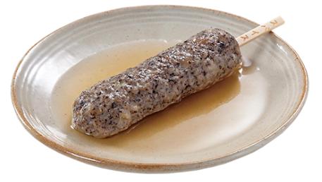 コンビニで買える人気のおでん「ブラックスパイス 鶏つくね串」