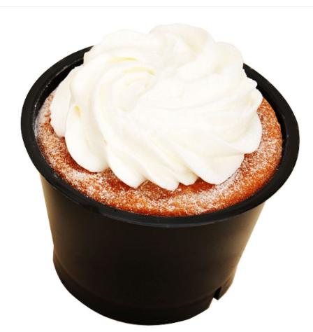 コンビニで買える人気のケーキ「たっぷりクリームの生シフォンケーキ」