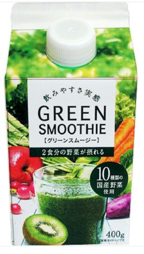 ファミリーマートで買える飲み物(ジュース)人気ランキング【グリーンスムージー 400g】