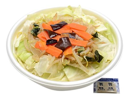 セブンイレブンで買えるお弁当人気ランキング【熟成中華麺野菜盛りタンメン】