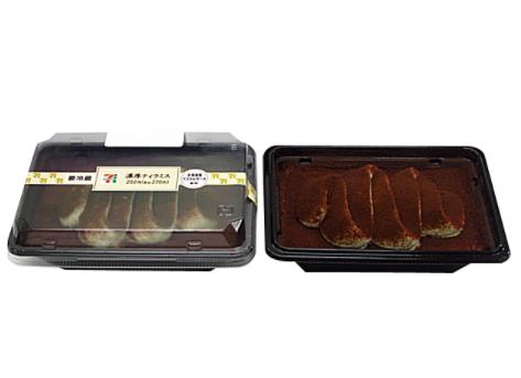 コンビニで買える人気のケーキ「濃厚ティラミス」