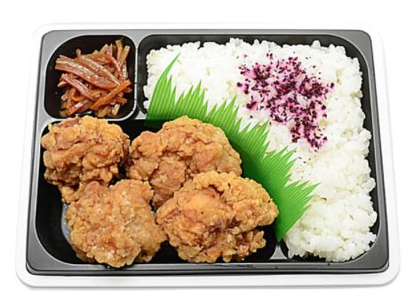 セブンイレブンで買えるお弁当人気ランキング【若鶏の唐揚弁当(生姜醤油仕立て)】