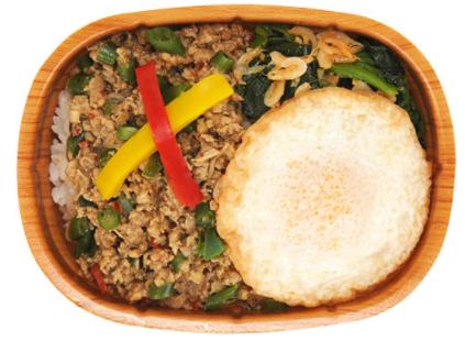ファミリーマートで買えるお弁当人気ランキング【ガパオライス】