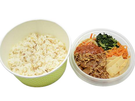 セブンイレブンで買える夜食人気ランキング【1日の1/3の野菜が摂れるビビンバ】