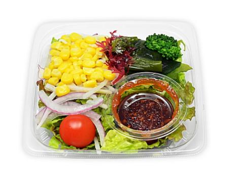 セブンイレブンで買える朝ごはん人気ランキング【10種具材のミックスサラダ】
