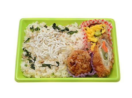 セブンイレブンで買えるお弁当人気ランキング【雑穀米のしらす御飯】