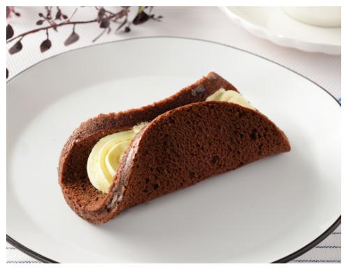 ローソンで買える朝ごはん人気ランキング【ブランのチョコオムレット ~バナナクリーム~】
