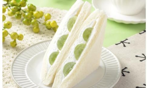 ローソンで買えるサンドイッチ人気ランキング【シャインマスカットサンド】
