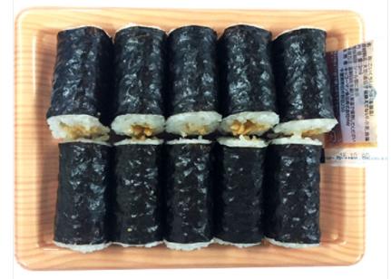 ファミリーマートで買える夜食人気ランキング「納豆細巻寿司」