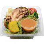 セブンイレブンで買える夜食人気ランキング【たっぷりきのこのサラダ】