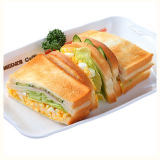 コメダ珈琲店のミックストースト
