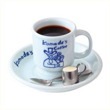 コメダ珈琲店の飲み物人気メニューのブレンドコーヒー