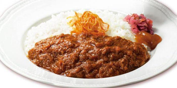 ロイヤルホストの食べ物人気メニューのビーフジャワカレー